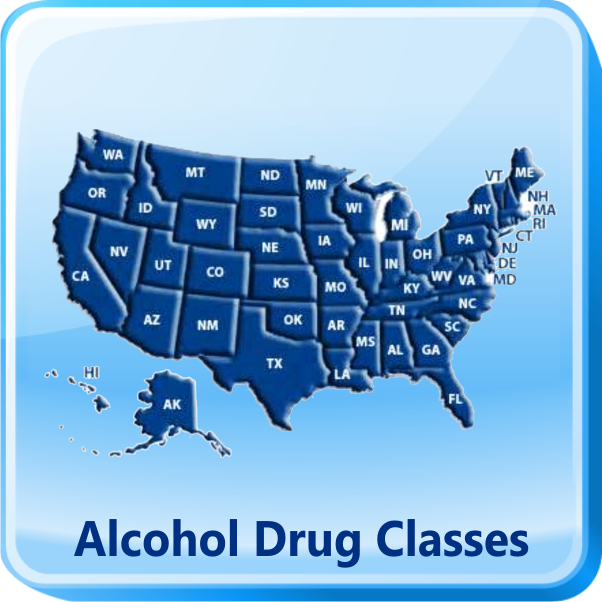 Alcohol & Drug Classes